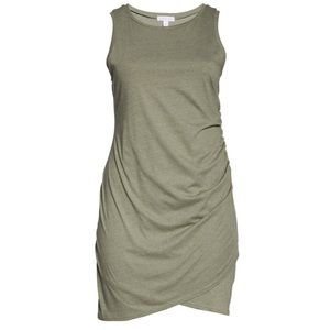 Leith Olive Dress